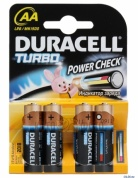Duracell LR6-4BL Turbo (4шт) (AA)