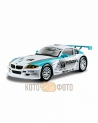 Машинка Bburago 1:43 Ралли BMW Z4 M coupe металл.