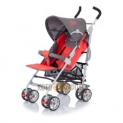 Коляска Baby Care Polo Dark Grey/Red