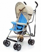 Коляска трость Baby care Vento (Ligt Grey/Blue)