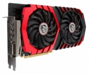 Видеокарта MSI PCI-E GTX 1060 GAMING X 3G nVidia GeForce GTX 1060 3072Mb 192bit GDDR5 1594/8108 Ret