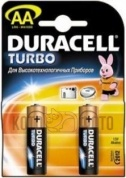 Duracell LR6-2BL Turbo (2шт) (AA)