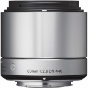 Объектив Sigma AF 60 mm F/2.8 DN ART for Micro Four Thirds Silver