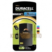 Duracell USB portable charger, 5 hour, 1800mAh