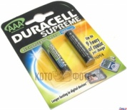 Duracell HR03-2BL 750mAh (2шт) (AAA)
