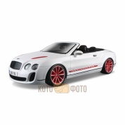 Машинка Bburago 1:18 Bentley Continental Supersport Convertible металл.