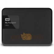 Внешний жесткий диск WD Original USB 3.0 3Tb WDBNFV0030BBK-EEUE My Passport Ultra (5400 об/мин) 2.5