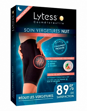 Шорты от растяжек Lytess Night-Time Stretch Marks Care чер.